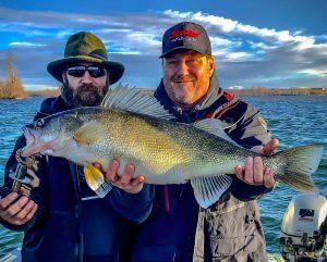Walleye Fishing on Columbia River